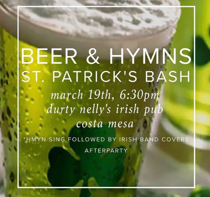 Beer and Hymns Orange County Tour Dates