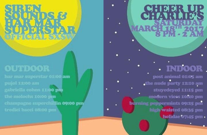 Har Mar Superstar @ Cheer Up Charlie's - Austin, TX