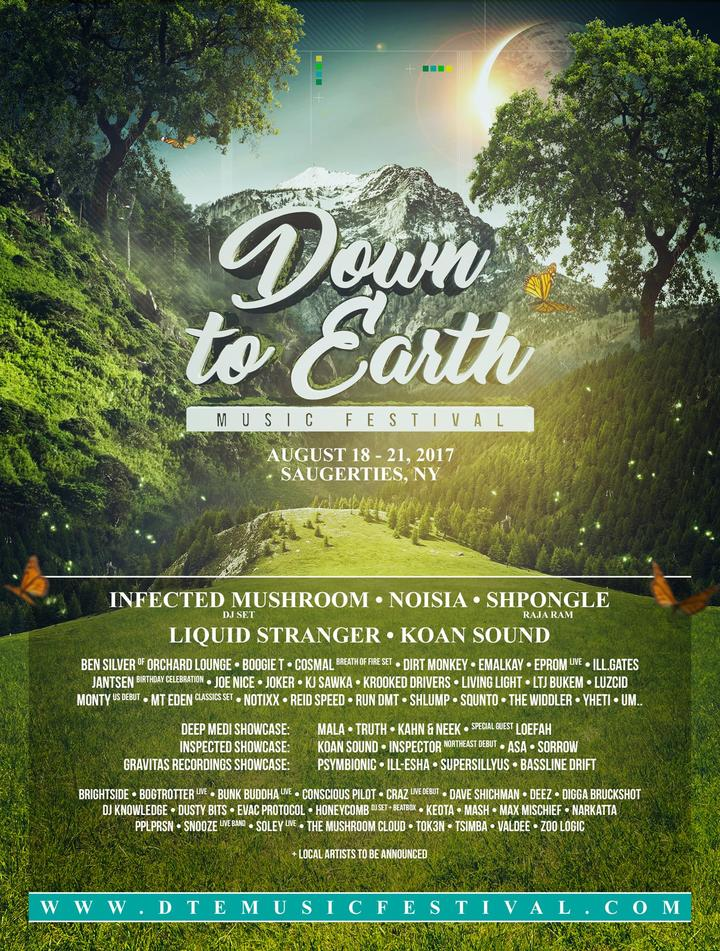 DJ Knowledge @ Down To Earth Festival - Saugerties, NY