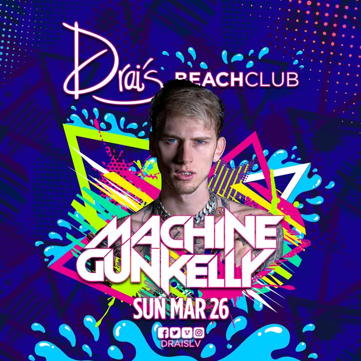 Machine Gun Kelly @ Drais Beach Club - Las Vegas, NV
