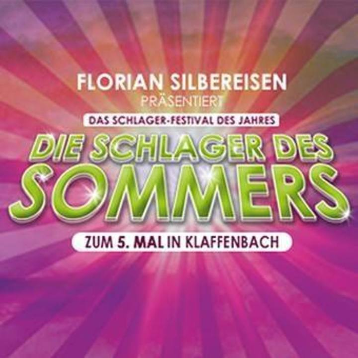 Die Schlager des Sommers @ Wasserschloss Klaffenbach - Chemnitz, Germany