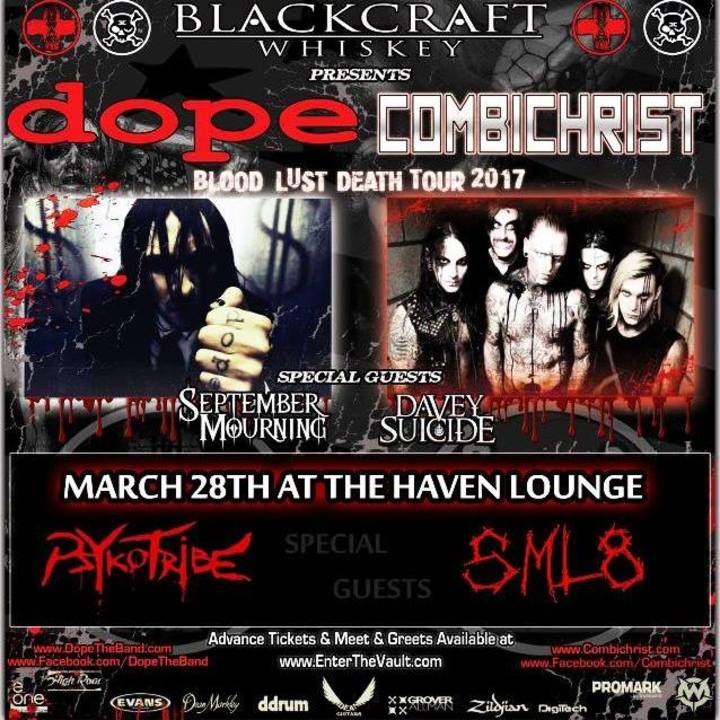 Psykotribe Tour Dates