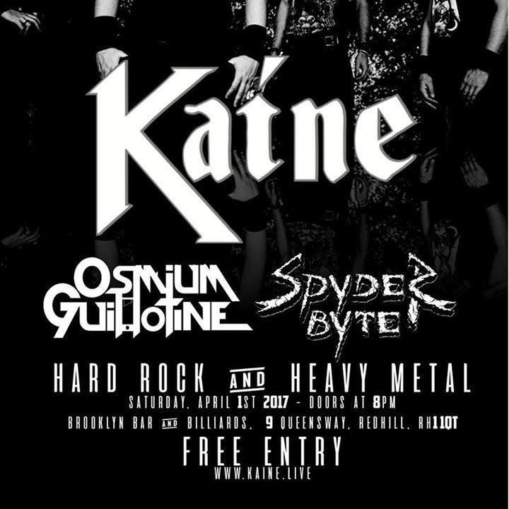 Kaine Tour Dates