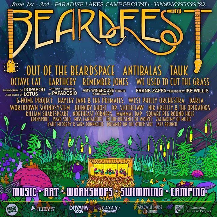 Beardfest Tour Dates