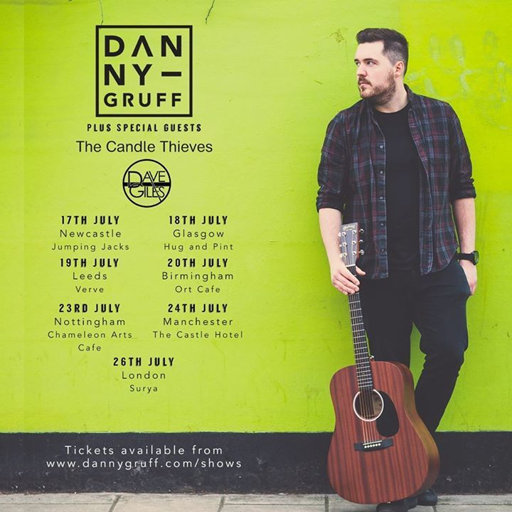 Danny Gruff Tour Dates