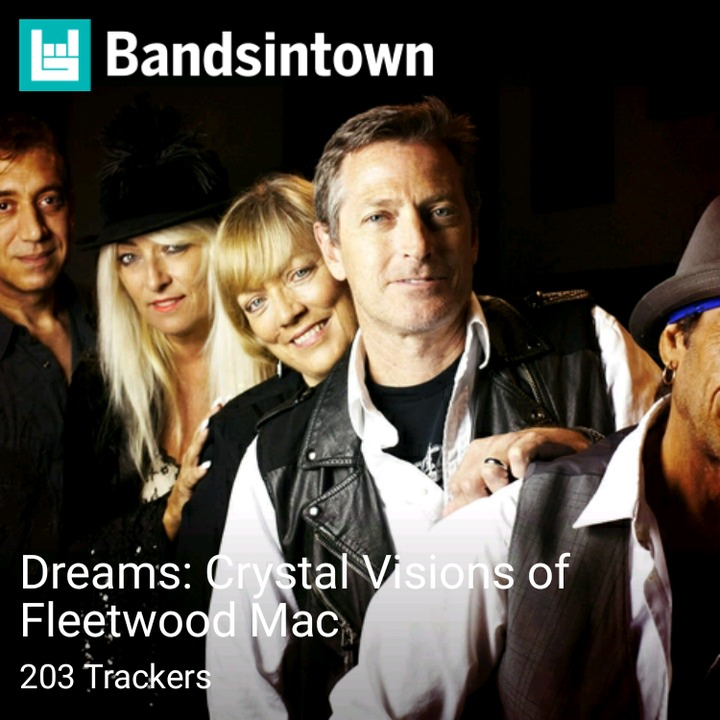 Dreams: Crystal Visions of Fleetwood Mac Tour Dates