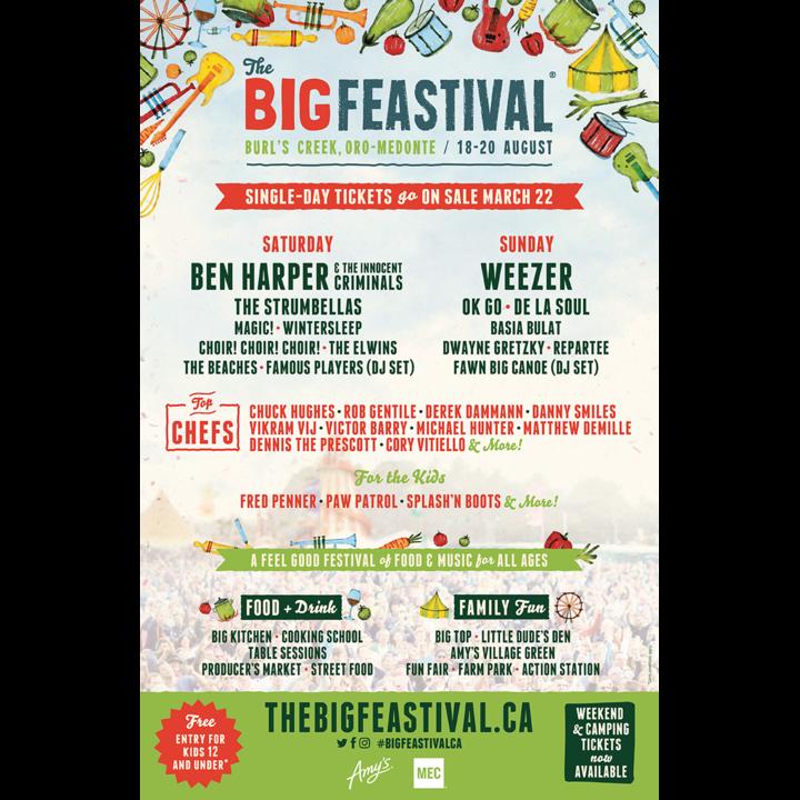 The Elwins @ Big Feastival - Oro-Medonte, Canada