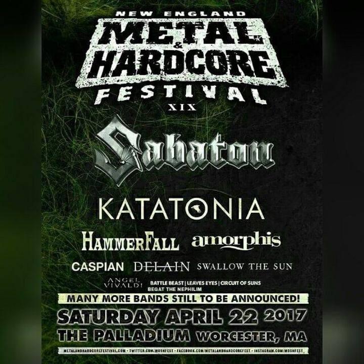 Begat The Nephilim Tour Dates