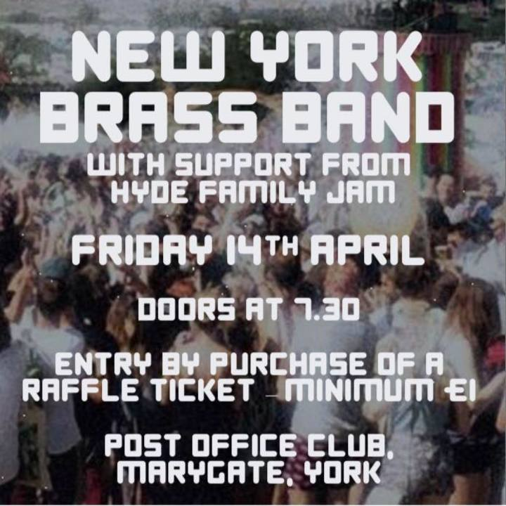 New York Brass Band Tour Dates