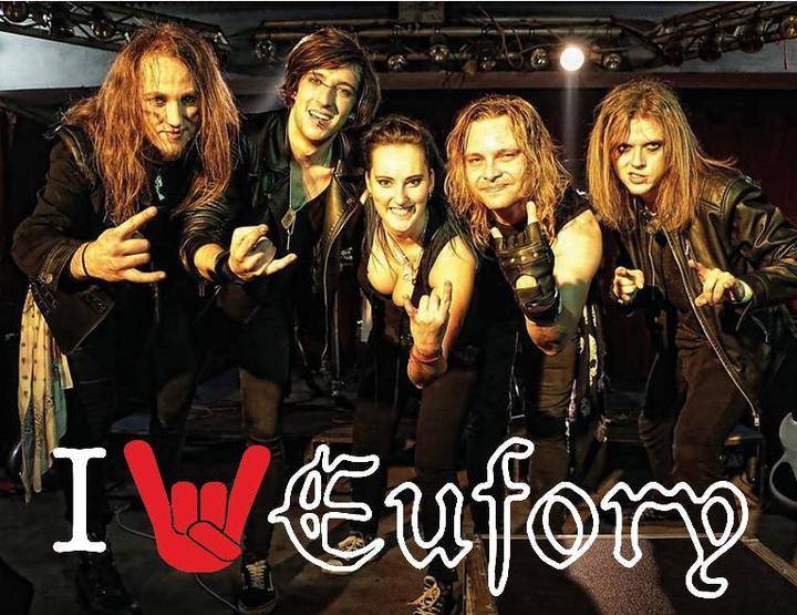 Eufory (Band) @ Cinema  - Orlová, Czech Republic
