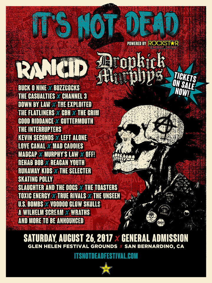 OFF! @ It's Not Dead Festival - San Bernardino, CA