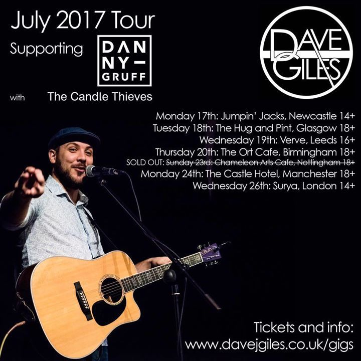 Dave Giles @ The Garage - London, United Kingdom