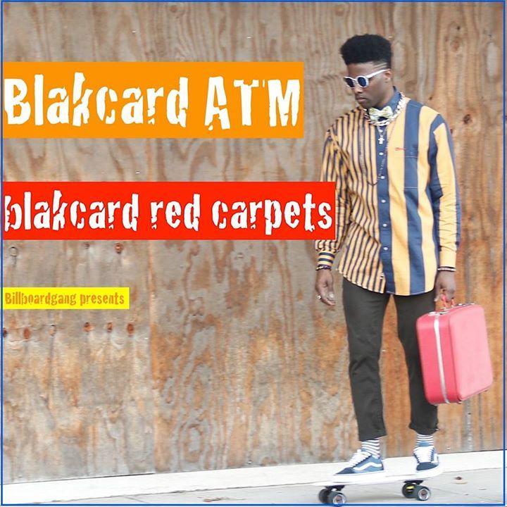 Blakcard ATM Tour Dates