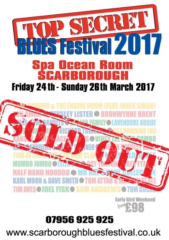Vince Lee - Blues Guitarist @ Vince Lee & The Big Combo @ Scarborough Top Secret Blues Festival - Scarborough, United Kingdom