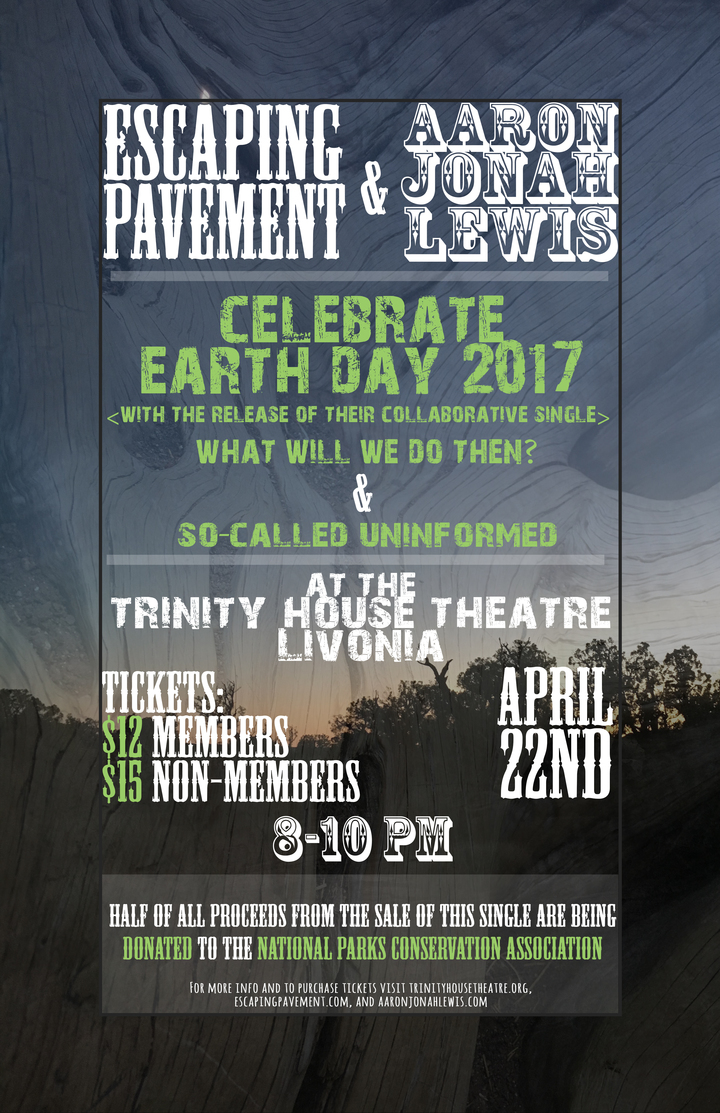 Escaping Pavement @ Trinity House Theatre - Livonia, MI