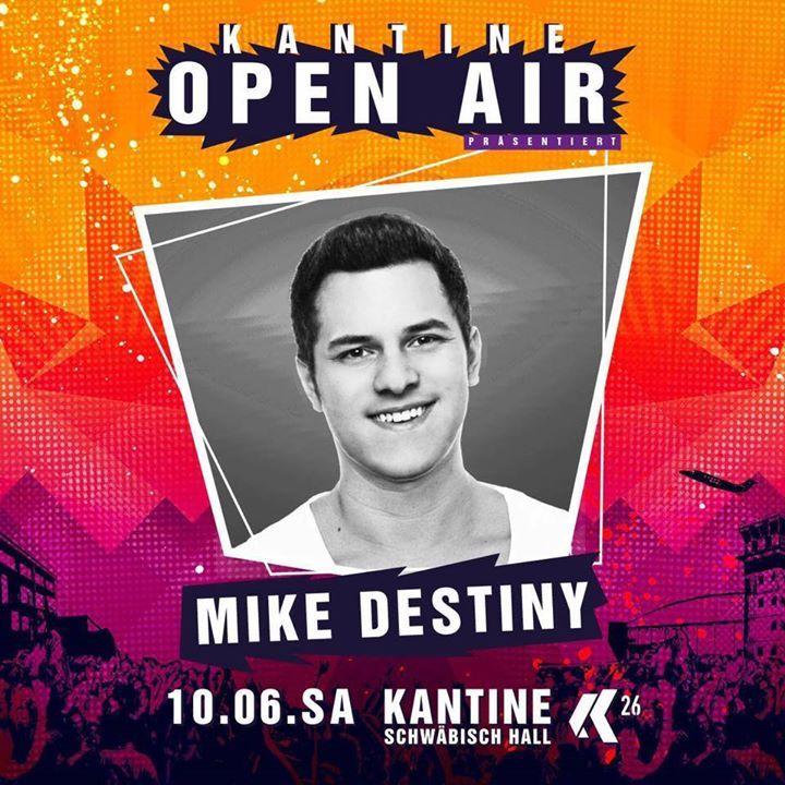 Mike Destiny Tour Dates