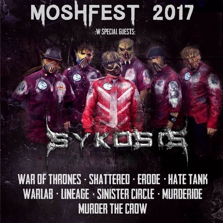 Tampa Bay Mosh Team Tour Dates
