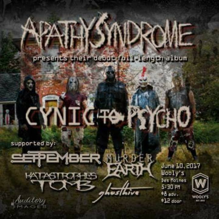 Apathy Syndrome @ Wooly's - Des Moines, IA