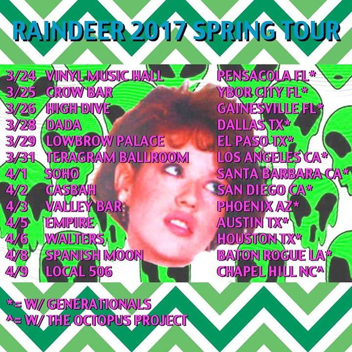 Raindeer Tour Dates