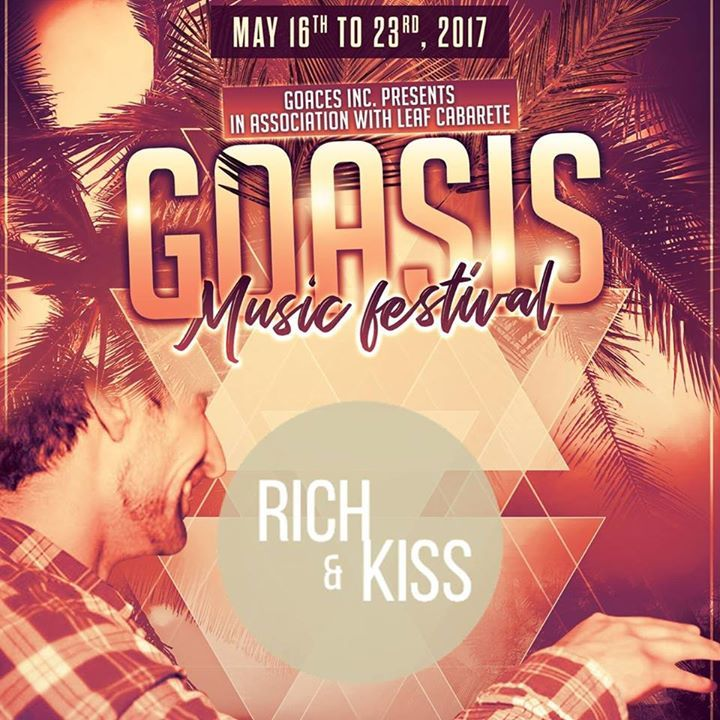 Rich & Kiss Tour Dates