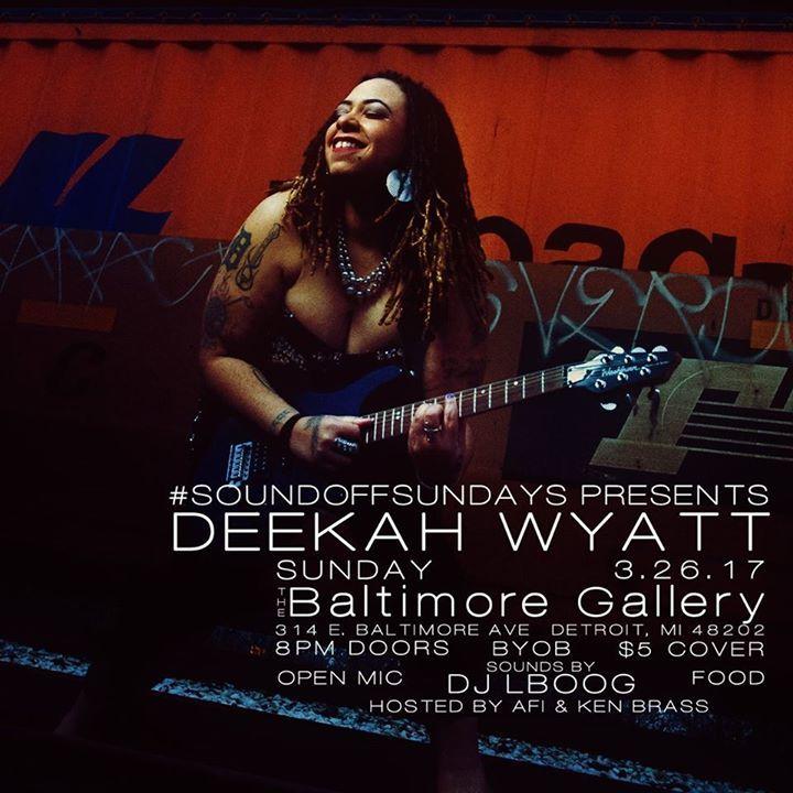Deekah Wyatt Tour Dates