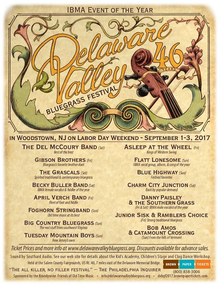 Danny Paisley and the Southern Grass @ Delaware Valley Bluegrass Festival - Woodstown, NJ