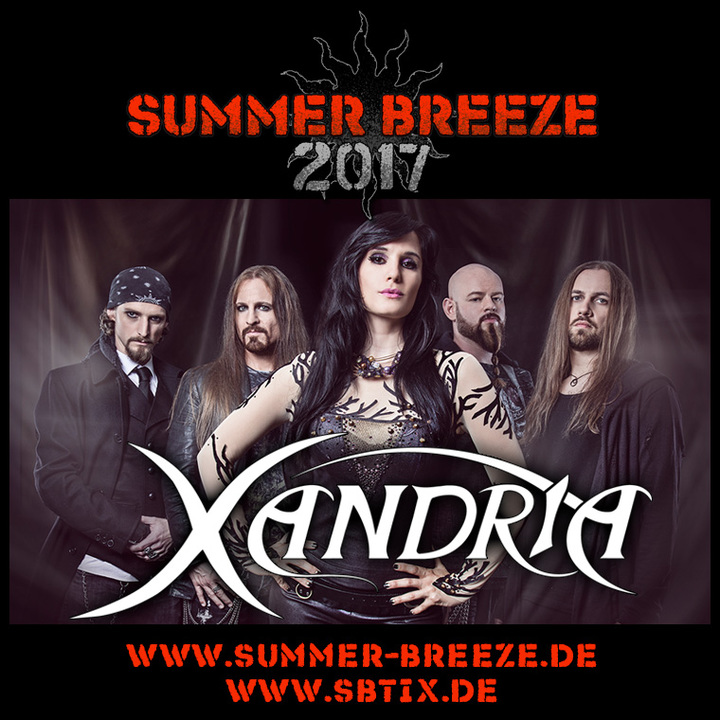 Xandria @ Summer Breeze - Sinbronn, Germany