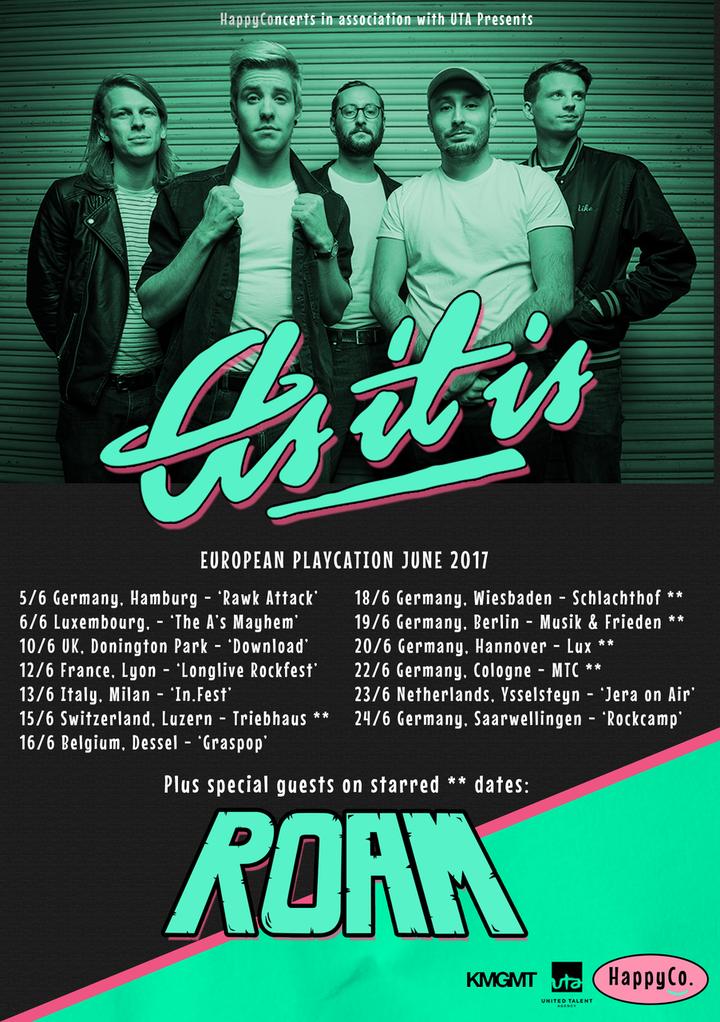 As It Is @ RAWK ATTACK - Hamburg, Germany