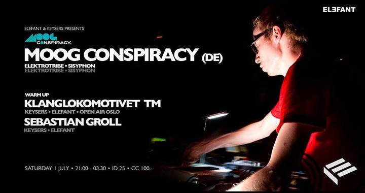 Moog Conspiracy @ Elefant  - Oslo, Norway