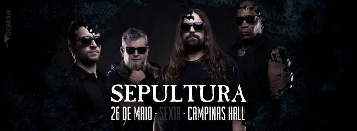 Sepultura @ Campinas Hall - Campinas, Brazil