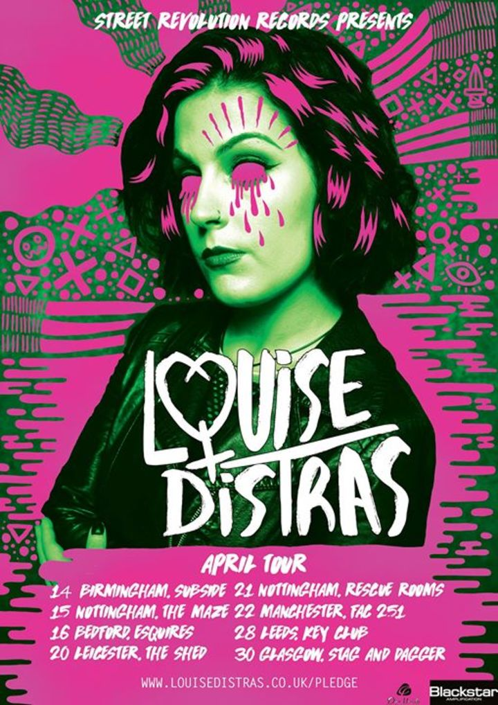 Louise Distras Tour Dates