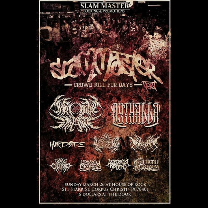 Blood of our brothers Tour Dates