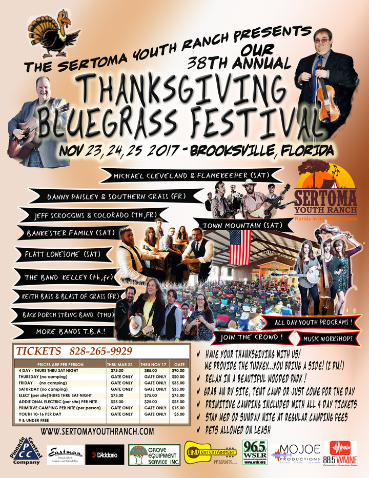Danny Paisley and the Southern Grass @ Thanksgiving Bluegrass Festival - Brooksville, FL