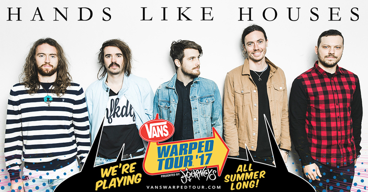 Hands Like Houses @ Legion Stadium (Vans Warped Tour) - Wilmington, NC