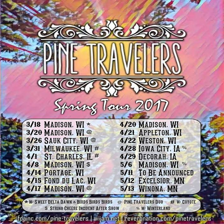 Pine Travelers Tour Dates