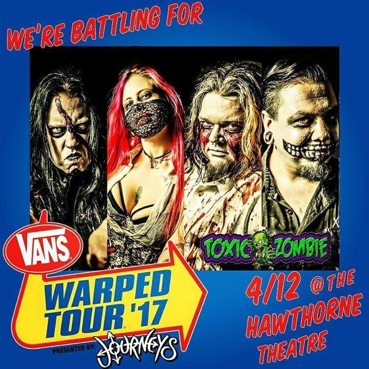 Toxic Zombie Tour Dates