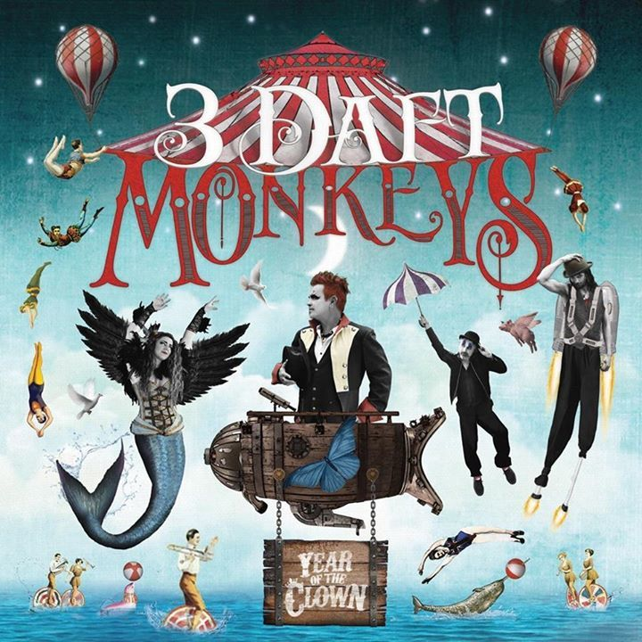 3 Daft Monkeys @ The Barrel House Ballroom - Totnes, United Kingdom