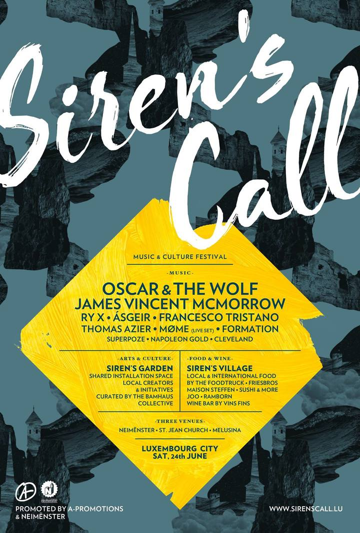 Oscar & the wolf @ Siren's Call - Luxembourg City, Luxembourg