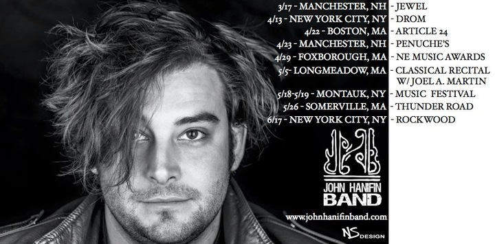 John Hanifin Band Tour Dates