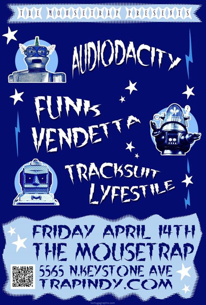 Audiodacity Tour Dates