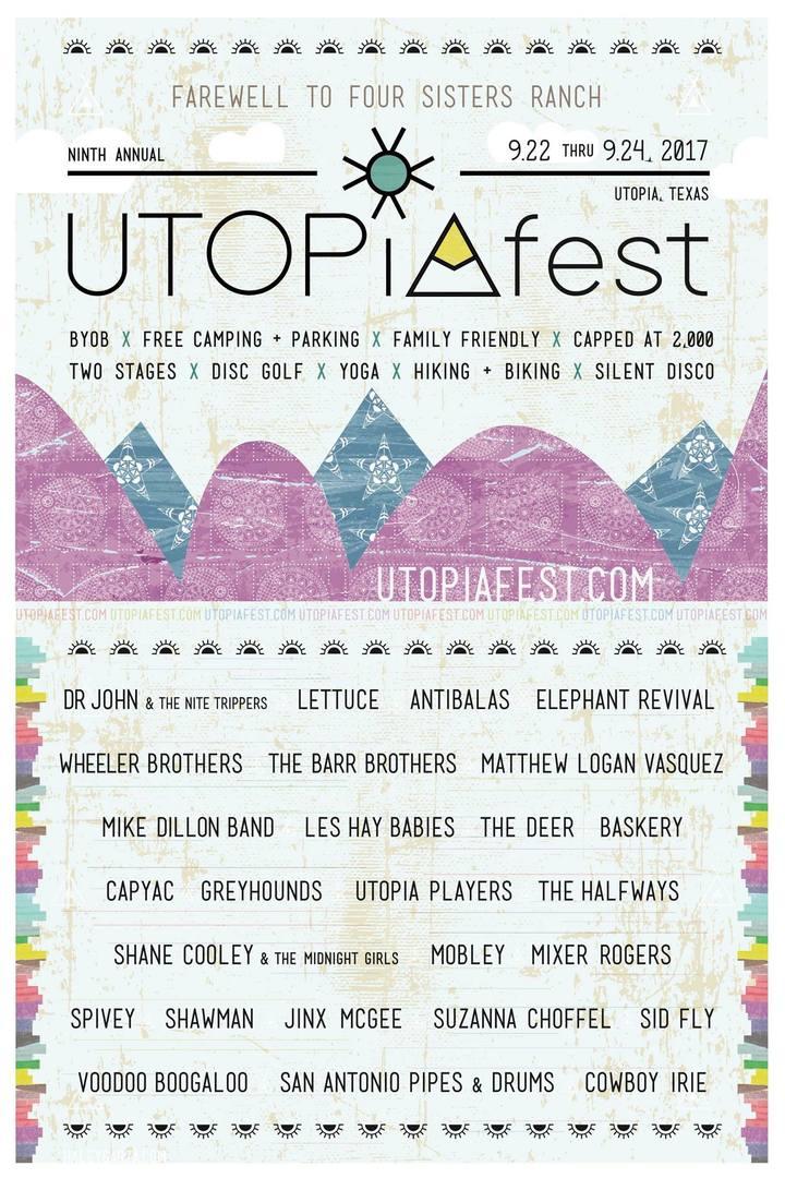 Lettuce @ Utopiafest - Utopia, TX