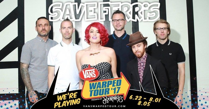 Save Ferris Tour Dates