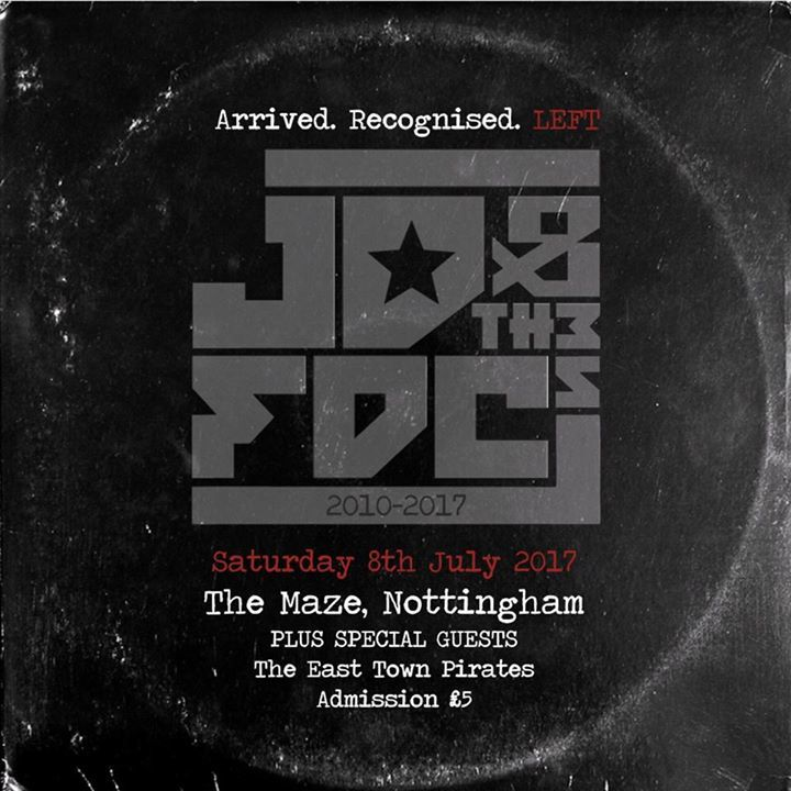 JD and the FDCs Tour Dates