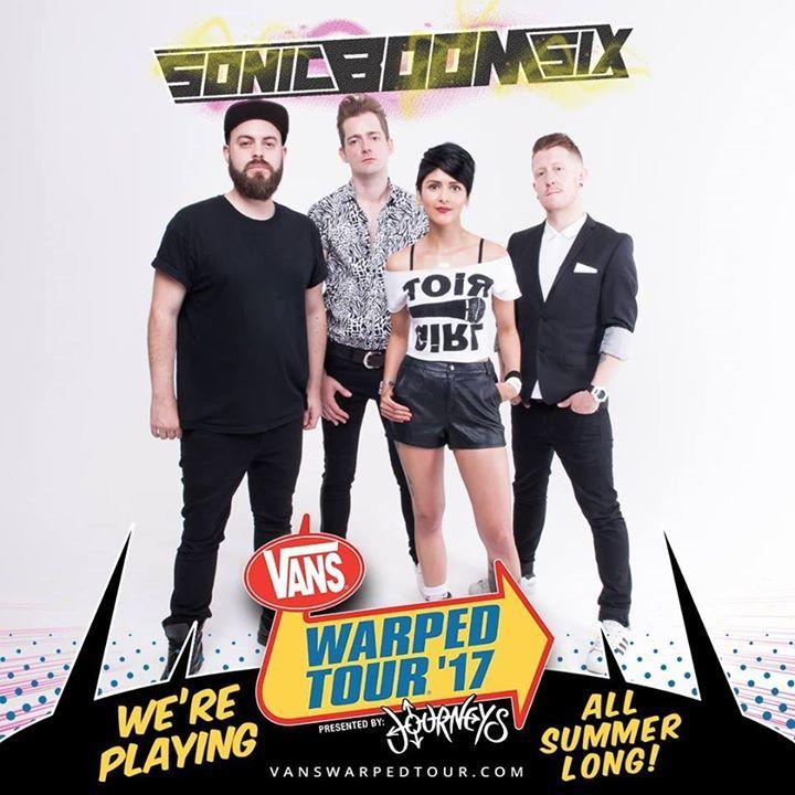 Sonic Boom Six Tour Dates