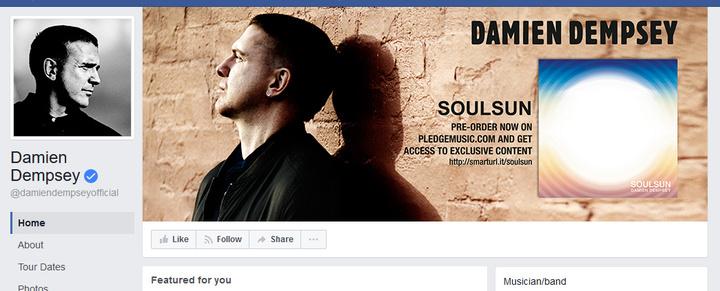 Damien Dempsey @ O2 Ritz - Manchester, United Kingdom