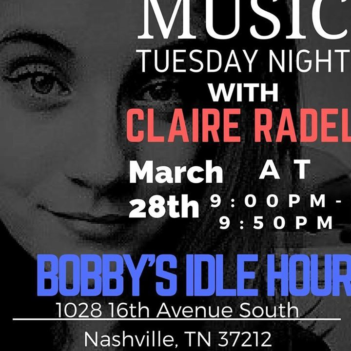Claire Radel Tour Dates