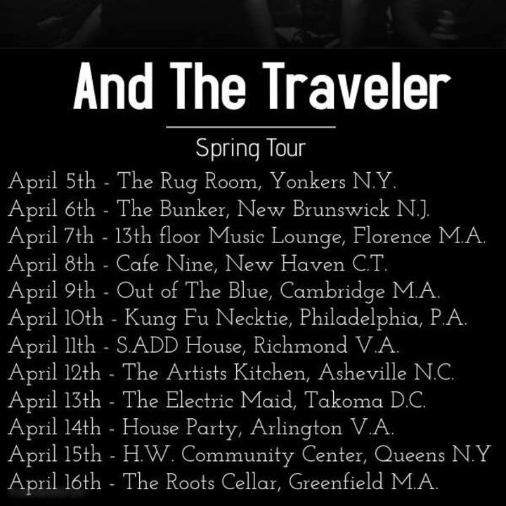 And The Traveler Tour Dates
