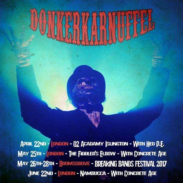 Donkerkarnuffel Tour Dates