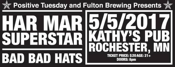 Har Mar Superstar @ Kathy's Pub - Rochester, MN