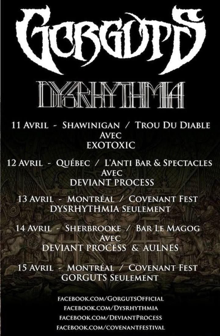 Dysrhythmia @ Ivory Blacks - Glasgow, United Kingdom